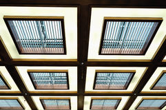 Indoor roof lamp Royalty Free Stock Photos