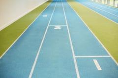 Indoor running track Stock Photography