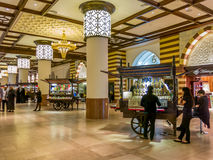 Indoor Souk of Dubai Mall, Downtown Dubai Stock Images