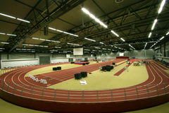 Indoor Sports Arena Royalty Free Stock Photography