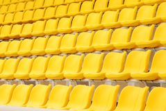 Indoor stadium Royalty Free Stock Image