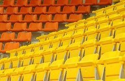 Indoor stadium Stock Image