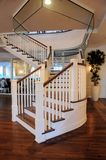 Indoor staircase in apartment building Royalty Free Stock Image
