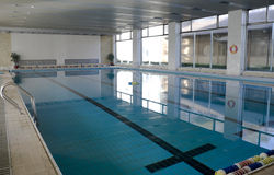 Indoor Swimming Pool Royalty Free Stock Images