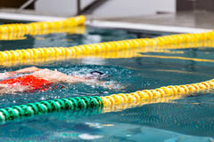 Indoor swimming pool Stock Photos