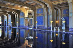 Indoor swimming pool of Hearst Castle Royalty Free Stock Photo