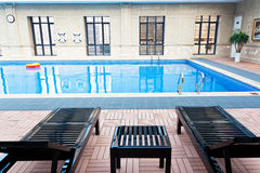 Indoor Swimming Pool Stock Photography