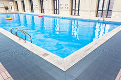 Indoor Swimming Pool. Partial close-up indoor swimming pool Royalty Free Stock Image