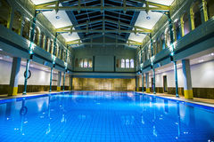 Indoor swimming pool and spa Royalty Free Stock Photos