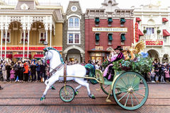 Disneyland Paris Parade royalty free stock photos