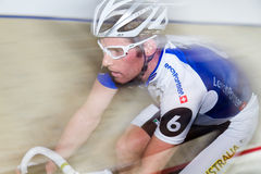 Indoor track bike race at  Sixday-Nights Zürich Stock Images