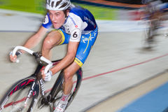 Indoor track bike race at  Sixday-Nights Zürich Royalty Free Stock Photo