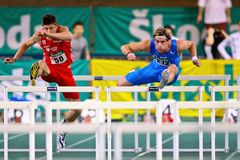 Indoor Track and Field Championship 2011 Royalty Free Stock Photography