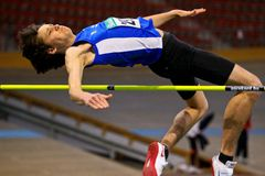 Indoor Track and Field Championship 2011 Stock Image
