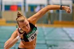 Indoor Track and Field Championship 2011 Stock Photo