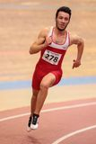 Indoor Track and Field 2015 Stock Image
