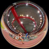Indoor Track and Field 2015 Royalty Free Stock Photo