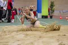 Indoor Track & Field Vienna 2015 Stock Photography