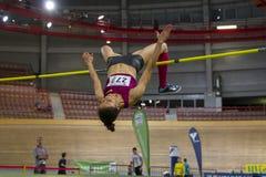Indoor Track & Field Vienna 2015 Royalty Free Stock Photos