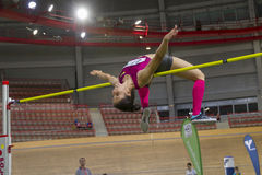 Indoor Track & Field Vienna 2015 Royalty Free Stock Images