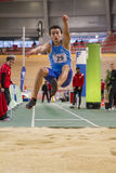 Indoor Track & Field Vienna 2015 Royalty Free Stock Photos