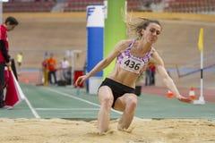 Indoor Track & Field Vienna 2015 Stock Photo