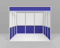 Indoor Trade exhibition Stand for Presentation Stock Photo
