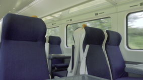 Indoor train full with commuter in sunny day 4k. Indoor train full with commuter in sunny day stock footage