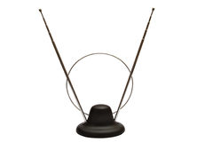 Indoor TV antenna Royalty Free Stock Image