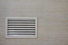 Free Indoor Ventilation Window In The Wall Stock Photography - 147830712