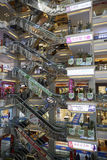 Indoor view of a household items supper mall in Beijing city Stock Photography