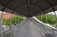 Indoor walkway Royalty Free Stock Images