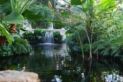 Indoor Water Fountain Stock Photo