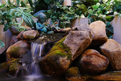Indoor Waterfall Stock Photography