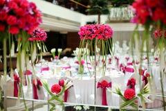 Indoor wedding Scene Royalty Free Stock Photography