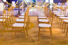 Indoor wedding Scene Royalty Free Stock Images