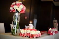 Indoor wedding Scene Stock Image