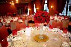 Indoor wedding scene stock photography