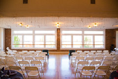 Indoor Wedding Venue Royalty Free Stock Photos
