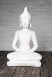 Seated statue of Buddha Stock Photography
