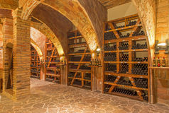 Indoor of wine cellar Royalty Free Stock Photography