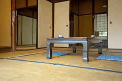 Indoor of wooden villa in  Japan Stock Photos