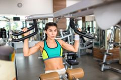 Indoor workout Royalty Free Stock Photos