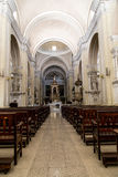 Indoors katedra w Leon, Nikaragua Zdjęcie Stock