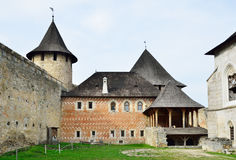 Indoors of the Khotyn fortress Royalty Free Stock Photos