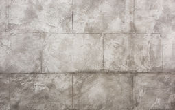 Indoors wall made with slabs of beton Royalty Free Stock Images
