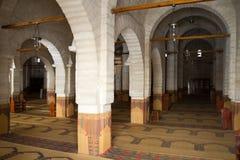 Indor de la mezquita Fotografía de archivo libre de regalías