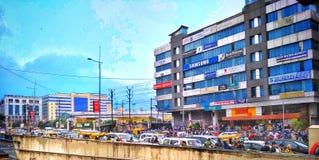Indore Indien fotografering för bildbyråer