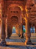 Indore Rajwada, der königliche Palast von Indore, Indien Lizenzfreie Stockfotografie