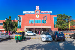 Indore train station Stock Images